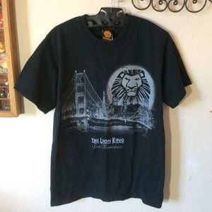 Disney Tops - Disney Lion King Musical San Francisco Tee